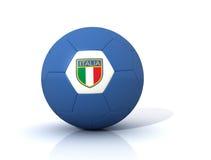 Italy soccer ball stock photography