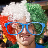 Italy Soccer Supporter - FIFA WC Stock Image