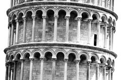 italy som lutar det pisa tornet tuscany royaltyfri foto