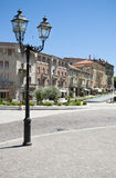 Italy square. Little town Italy square from Acqui Terme Royalty Free Stock Photography