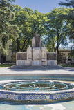 Italy Square (Plaza Italia) in Mendoza, Argentina. Stock Photo