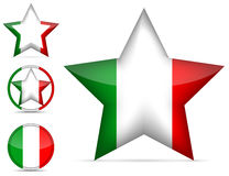Italy star Royalty Free Stock Image