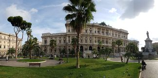 Italy, stately home, classical architecture, plaza, palace. Italy is stately home, palace and sky. That marvel has classical architecture, estate and building royalty free stock image
