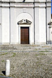 Italy  sumirago    varese  the old  entrance  mosaic sunny daY Stock Photo