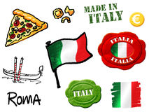 Italy symbols Stock Photography