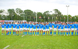 Italy team during IRB Nations Cup Stock Image