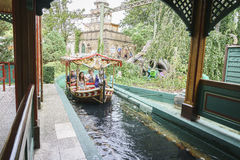 Italy  themed area - Europa Park in Rust, Germany Royalty Free Stock Images