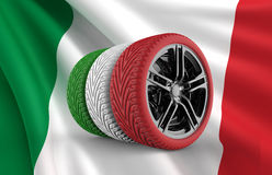 Italy Tires Royalty Free Stock Images