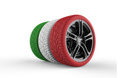 Italy Tires Royalty Free Stock Image