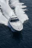 Italy, Tirrenian sea, Aqua 54' luxury yacht Royalty Free Stock Photo