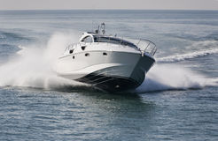 Italy, Tirrenian Sea, Luxury Yacht Rizzardi 45  Royalty Free Stock Photo
