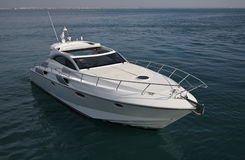Italy, Tirrenian Sea, Luxury Yacht Rizzardi 45  Stock Image