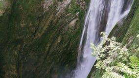 italy tivoli Arkitektur av roman historisk gammal byggnad, vattenfall 4K lager videofilmer