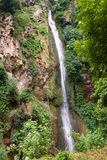 Italy. Tivoli. Falls on Gregorian Villa Royalty Free Stock Photo