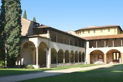 Italy.Tivoli. Villa d Este Royalty Free Stock Image