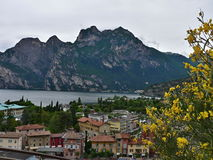 Italy-Torbole and lake Garda Royalty Free Stock Photos