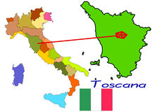 Italy, Toscana Royalty Free Stock Images