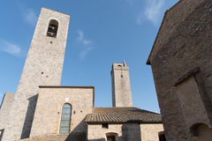 Italy, Towers of San Gimignano Stock Photography
