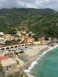 Italy. Travel beach sea mountains Stock Photos