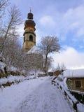 Italy, Trentino Alto Adige, Bolzano, Brunico, the church of Santa Caterina stock image