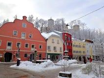 Italy, Trentino Alto Adige, Bolzano, Brunico, some views of the town royalty free stock photography