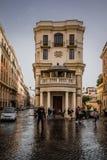 Trinità dei Monti History City Rome Empire stock image