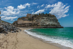 Italy Tropea Palace Stock Images