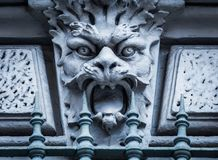 Mask of stone Royalty Free Stock Photography