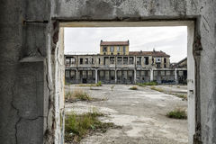 Italy - Turin - ex factory. Turin - The ex factory FIAT big motors royalty free stock photo