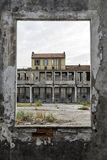 Italy - Turin - ex factory. Turin - The ex factory FIAT big motors stock photography
