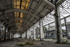 Italy - Turin - ex factory. Turin - The ex factory FIAT big motors stock photo