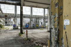Italy - Turin - ex factory. Turin - The ex factory FIAT big motors royalty free stock photography
