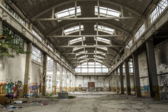 Italy - Turin - ex factory. Turin - The ex factory FIAT big motors stock image