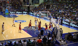 Italy - Turkey 78-69 Royalty Free Stock Photography