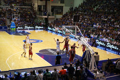 Italy - Turkey 78-69 Stock Image