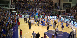Italy - Turkey 78-69 Royalty Free Stock Photos
