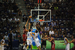 Italy - Turkey 78-69 Basket Royalty Free Stock Images