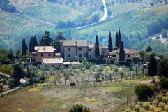 italy tuscany arkivbilder