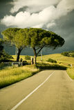 Italy, Tuscany, empty street Stock Images