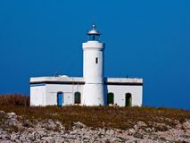 Italy, Tuscany, Grosseto, Maremma, islands, Ants  Formiche rocks, view of the Formicone lighthouse Royalty Free Stock Image