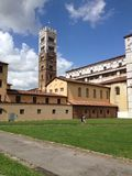 Italy, Tuscany, Lucca, Cathedral Stock Photography