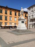 Italy, Tuscany, Lucca, Town Square Royalty Free Stock Photography