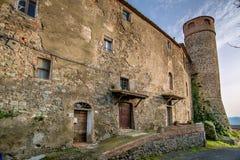 Italy, Tuscany, Montegemoli Stock Image