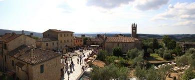 Italy,Tuscany,Monteriggioni,Siena. Royalty Free Stock Images