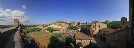 Italy,Tuscany,Monteriggioni village,Siena. Royalty Free Stock Image