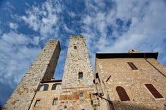 Italy, Tuscany. San Gimignano Stock Image