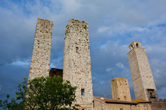 Italy, Tuscany. San Gimignano Royalty Free Stock Photo
