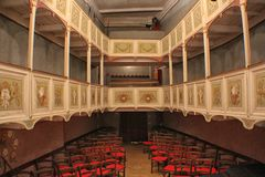 Italy - Tuscany - Vetriano Theatre Royalty Free Stock Photo