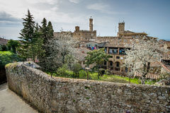 Italy, Tuscany, Volterra, view of the city Royalty Free Stock Images