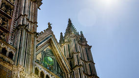 Italy,Umbria,Orvieto the Cathedral(Duomo) Royalty Free Stock Photos